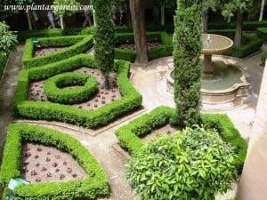 Jardin de Daraja o Daraxa en La Alhambra