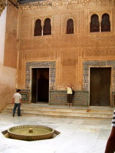 Patio del Mexuar en el Palacio de Comares La Alhambra