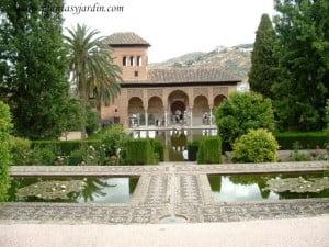 vista del palacio El Partal