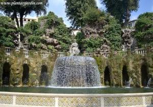 Fuente de Tivoli o del Ovario en Villa dEste