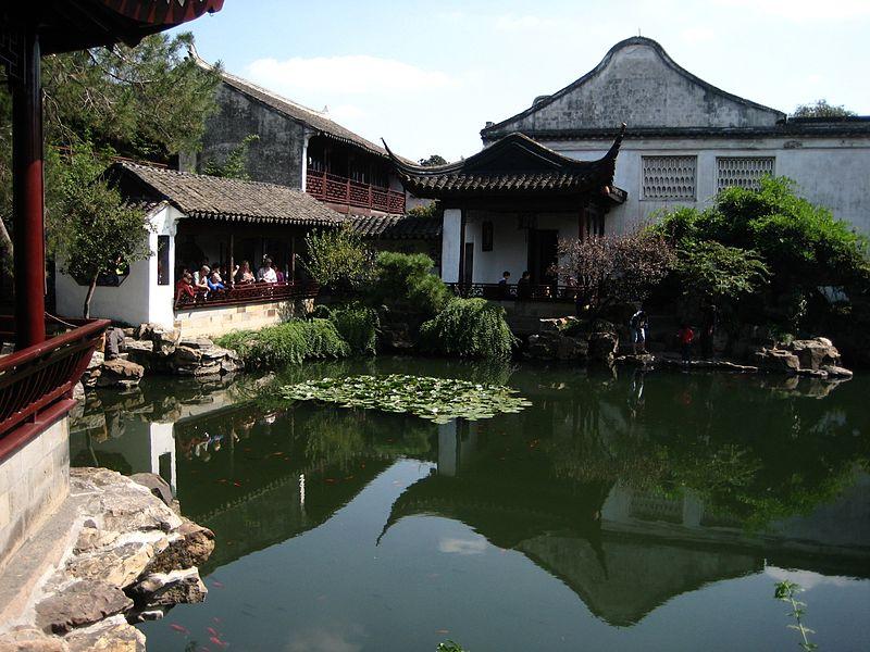 Jardines chinos Foto Wikipedia Plantas Jardn
