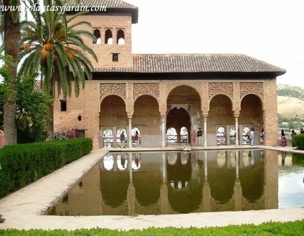 Palacio el Partal en La Alhambra