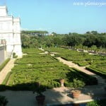 Villa Doria Pamphili con terraza y parterres