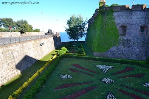 jardín del Castell de Montjuïc Barcelona