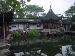 jardín del estanque y el pavellón. Foto: Wikipedia
