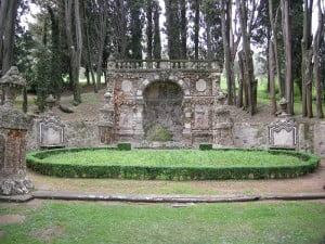 Villa Gamberaia ninfeo. Foto: Wikipedia