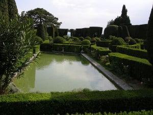 Villa Gamberaia parterre de agua. Foto: Wikipedia