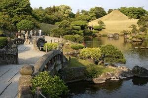 (*) Jardín Suizenji Joju-en, cerca del castillo Kumamoto.