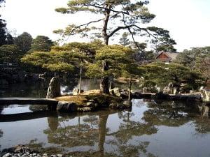(*) Jardín en el Palacio Imperial de Katsura en Kioto.