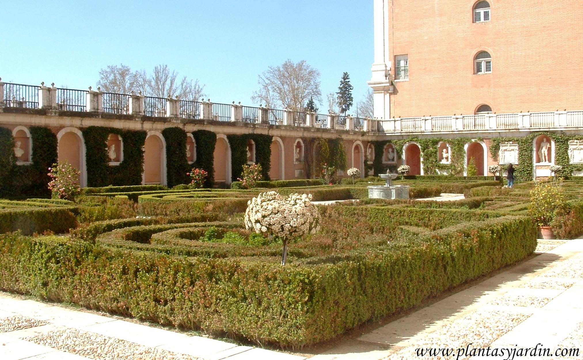 Parterres plantas jard n for Restaurante jardin del principe en aranjuez