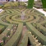 parterre del jardin de la casita del Principe