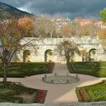 parterre en los Jardines Reales de San Lorenzo de El Escorial.