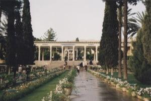 Hafezeeyeh Garden en Shiraz-Irán. Foto: Wikipedia.