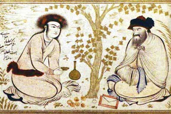 El jard n persa plantas jard n for Jarrones persas