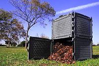 Compostador de jardín. Foto: Wikipedia