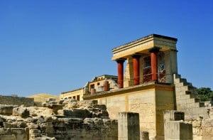Palacio de Cnosos. Foto: Wikipedia