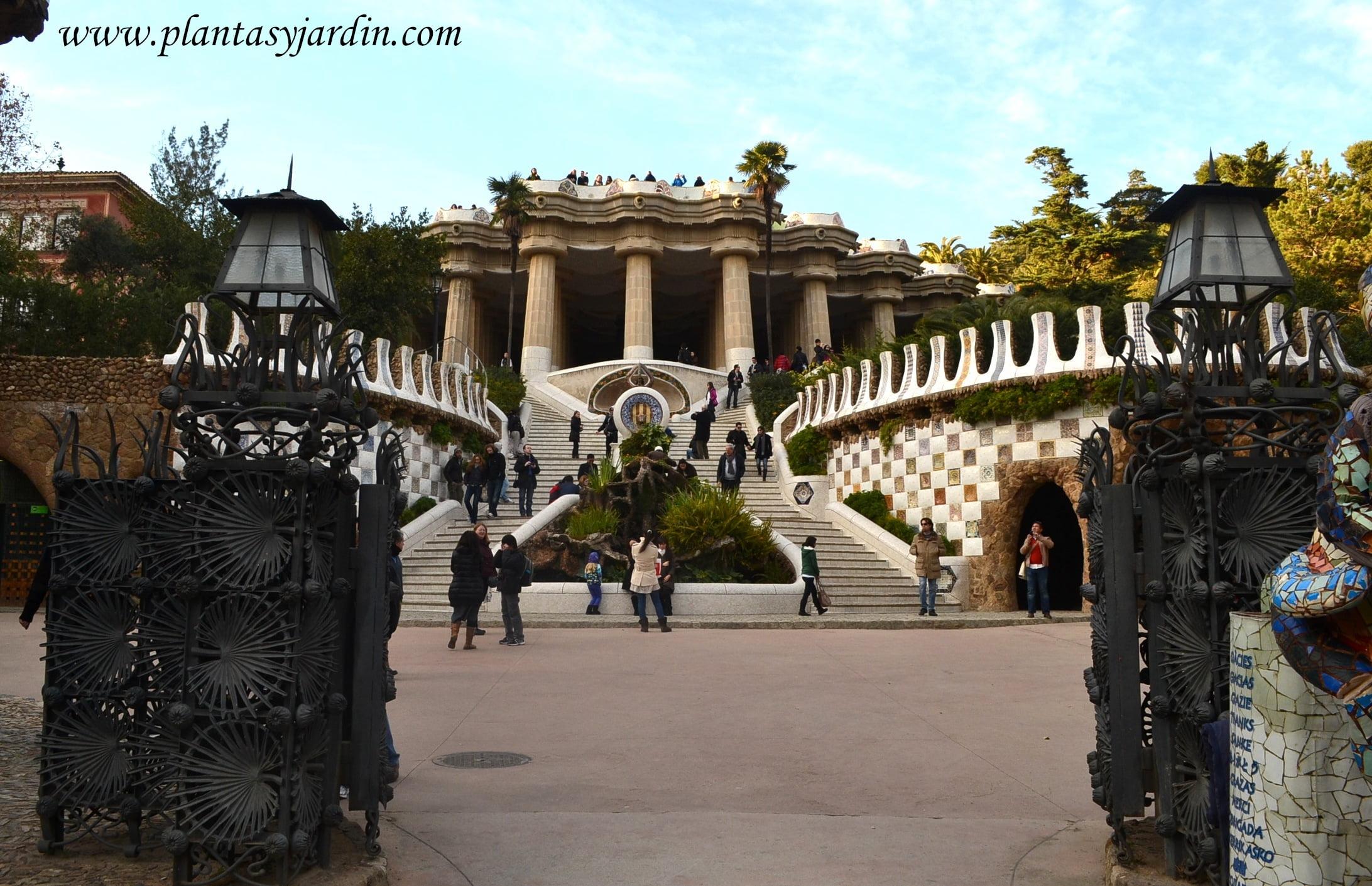 Entrada Principal al Parc Güell