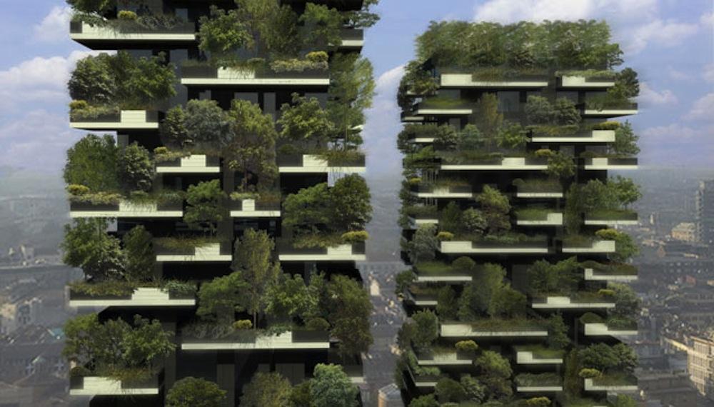 bosque vertical para combatir la polución de la ciudad. Foto: www.elmundo.es
