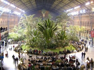 Jardín tropical de Atocha. Foto: Wikipedia