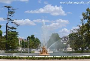Jardines del Palacio Real de Aranjuez-Fuente de Ceres en el Jardín del Parterre.
