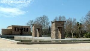 vista general del Templo de Debod