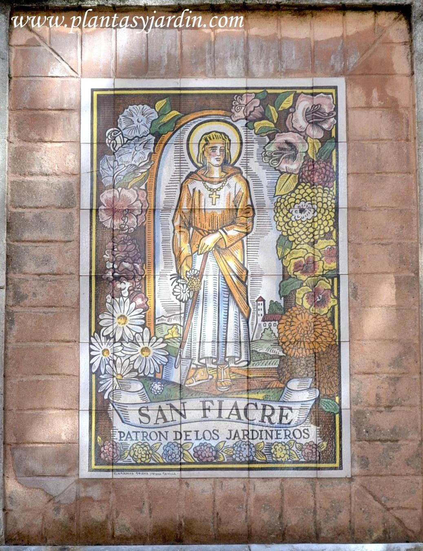 San Fiacre, Patrón de los jardineros