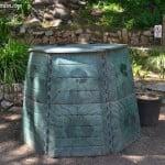 compostador para el huerto o jardín