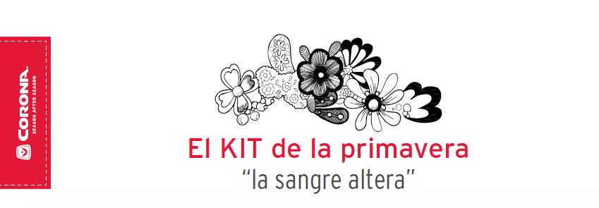 El Kit de la primavera la sangre altera