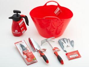 Herramientas del kit de jardinería de Corona