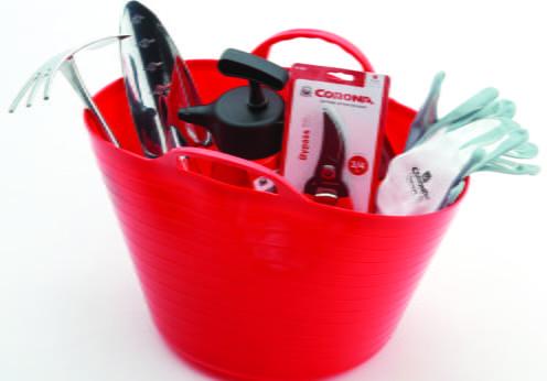 """kit de jardinería """"la sangre altera"""" de Corona"""