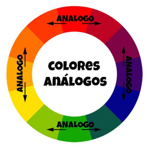 círculo cromático-colores análogos