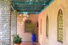 Juego de colores y formas son una constante en el Jardin-Majorelle