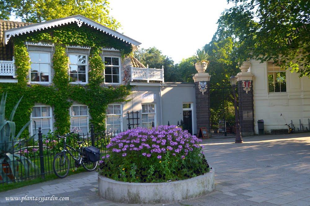 Entrada al Hortus Botanicus Amsterdam
